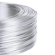 Aludraht 1mm 500g Silber