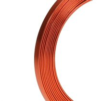 Aluminium Flachdraht Orange 5mm x 1mm 2,5m