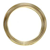 Aluminiumdraht 2mm 100g gold