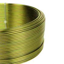 Aluminiumdraht Ø2mm Olivgrün 500g (60m)