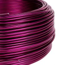 Aluminiumdraht Ø2mm  Pink 500g (60m)