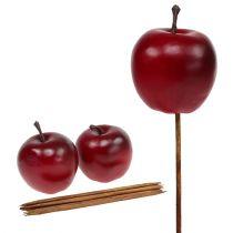 Apfel künstlich Rot Ø5,5cm 12St