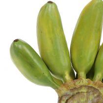 Babybananen Staude künstlich Grün 13cm