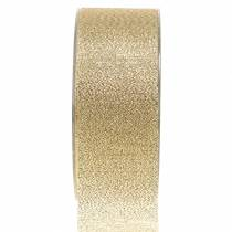 Deko Band Gold 40mm 20m