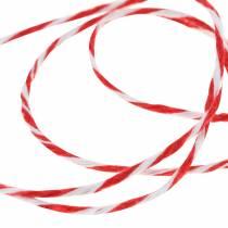 Kordel Rot / Weiß 220m