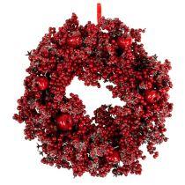 Beerenkranz Ø 36cm rot gezuckert