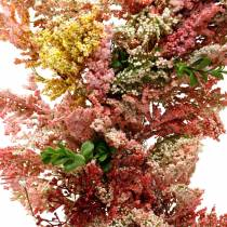 Kunstblumen Kranz Heidekranz Rosa Seidenblumen