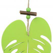 Blatt zum Hängen Hellgrün 14,5cm