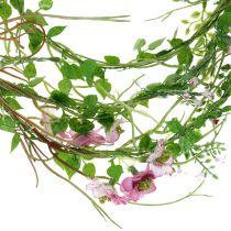 Blütengirlande Pink 180cm