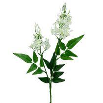 Blütenzweig Weiß 78cm 3St