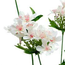 Blütenzweig Weiß L70cm