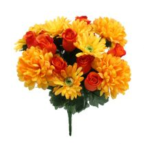 Blumenstrauß herbstlich H42cm