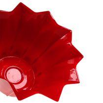 Blumentopf Plastik Rot Ø12cm 10St
