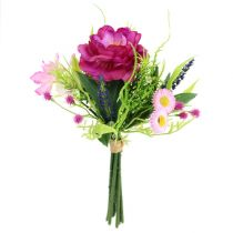 Blumenstrauß hell-lila 20cm