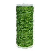 Bouilloneffektdraht Ø0,30mm 100g 140m Apfelgrün
