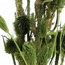 Wildblumen-Bouquet Natur, Grün 25–60cm 70g