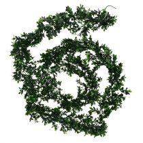 Buchsbaumgirlande 2,7m Grün