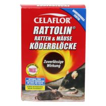 Celaflor Rattolin Ratten & Mäuse Köderblöcke 400g