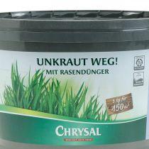 Chrysal Unkraut weg mit Rasendünger Unkrautvernichter 3kg