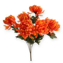 Chrysanthemenbusch Orange 47cm 2St