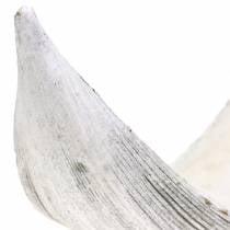 Kokosschale Kokosblatt weiß gewaschen 500g