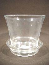 Orchideentopf glas