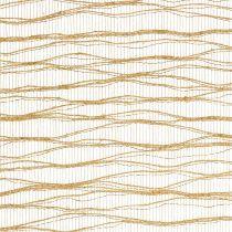 Deco Wave Tischband 26cm x 300cm Metallic-Gold