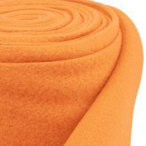 Deko Vlies Orange 15cm 5m