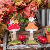 Deko-Apfel Rot glänzend 4,5cm 12St