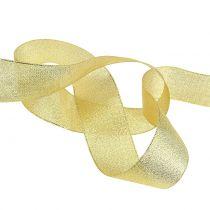 Deko Band Gold 25mm 22,5m