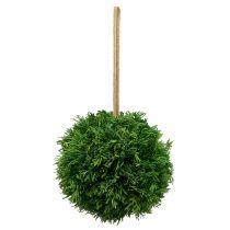 Künstliche Pflanzenkugel zum Hängen Grün Ø20cm