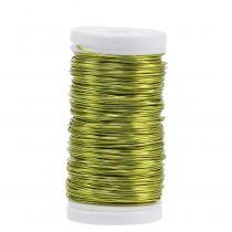 Deko Lackdraht Limonengrün Ø0,50mm 50m 100g