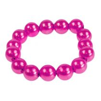 Deko-Perlen Pink Ø8mm 250St
