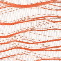 Deko Tischläufer Stoff Orange 26cm x 300cm