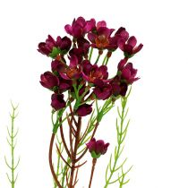 Deko-Zweig mit Blüten Erika 80cm 3St