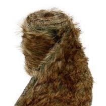 Deko Fellband Natur 12cm  2m