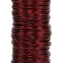 Dekolackdraht Ø0,30mm 30g/50m Bordeaux