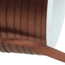 Geschenkband Braun 6mm x 50m