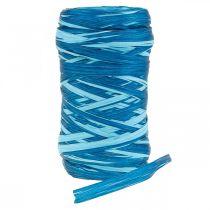Dekobast zweifarbig Blau 200m