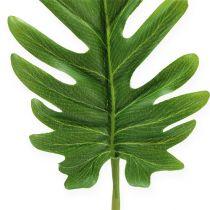 Dekoblätter Philodendron Grün B11cm L34cm 6St