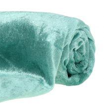 Dekostoff Velvet Mintgrün 140cm x 300cm