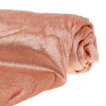 Dekostoff Velvet Rosa 140cm x 300cm