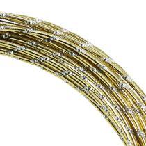Diamant Aluminiumdraht Gold 2mm 10m