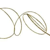 Draht umwickelt 50m Gold