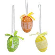 Eier zum Hängen Plastik 5cm 27St