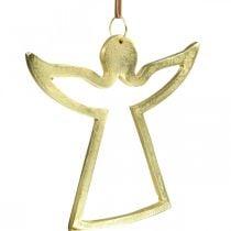 Metallanhänger, Deko-Engel, Adventsdeko Golden 15×16,5cm