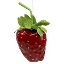 Erdbeere künstlich 18cm Rot 1St