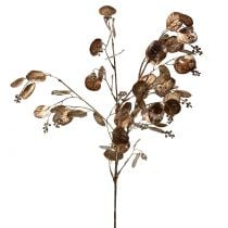 Künstlicher Eukalyptuszweig Kupfer 76cm