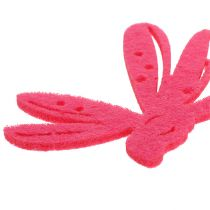 Filz Streudeko Pink 24St