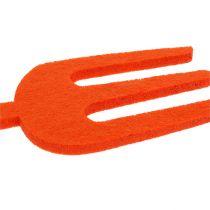 Filz Gartenwerkzeug Orange 6St